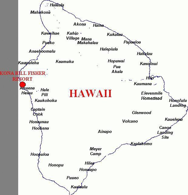 Kona Hawaii Map Image Search Results